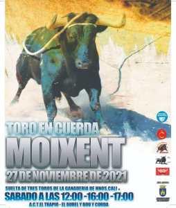 TOROS MOIXENT 27 NOVIEMBRE 2021