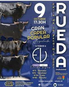 TOROS RUEDA 9 OCTUBRE 2021