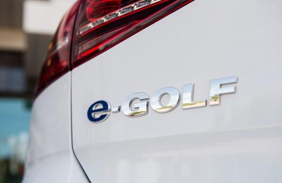 2019 Volkswagen e-Golf rear detail
