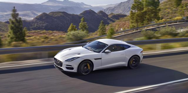 A Jaguar F-Type SVR
