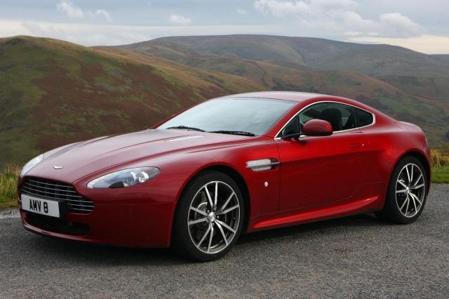 An Aston Martin Vantage