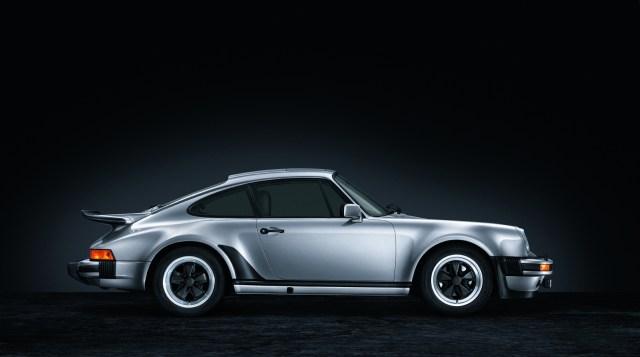 A classic Porsche 911