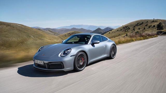A 992 Porsche 911