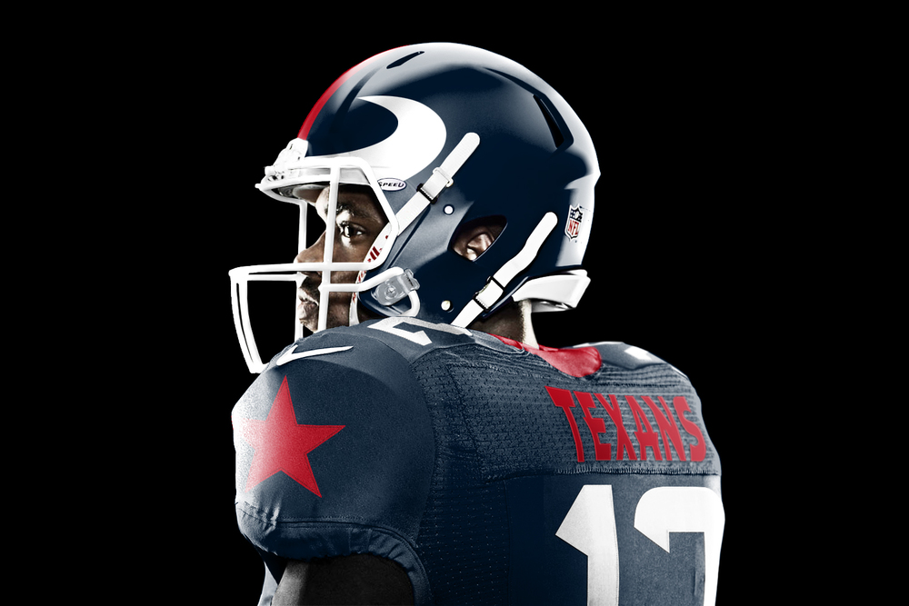 Houston Texans get a new look from Jesse Alkire on New Get Design  id=39306