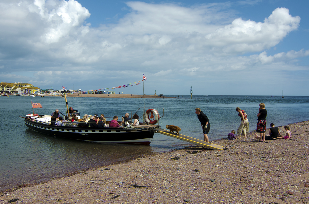 teignmouth beach ferry