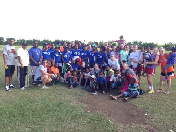 DR Softball village softball team pic