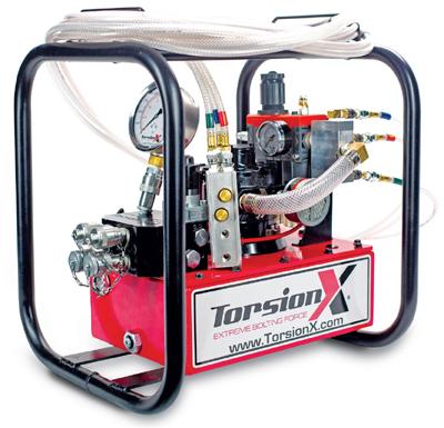 air hydraulic torque wrench pump