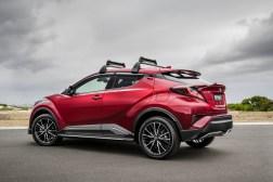 2017 Toyota C-HR with Toyota Genuine Accessories