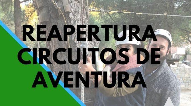 REAPERTURA CIRCUITO DE AVENTURA
