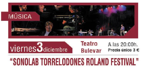 Sonolab Torrelodones en el Teatro Bulevar
