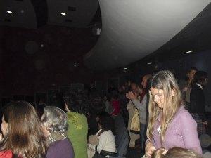Teatro abarrotado
