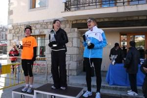 Ganadoras de la XXV Pedestre Popular de Torrelodones