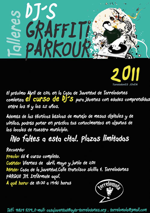 Curso de DJ's en Torrelodones