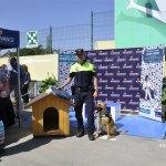 Kora, la perra de la Unidad Canina de la Policía Local