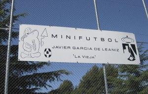 """Los nuevos campos de la colonia se llaman """"Javier García de Leániz"""""""