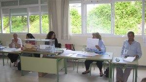 Mesas electorales en Torrelodones