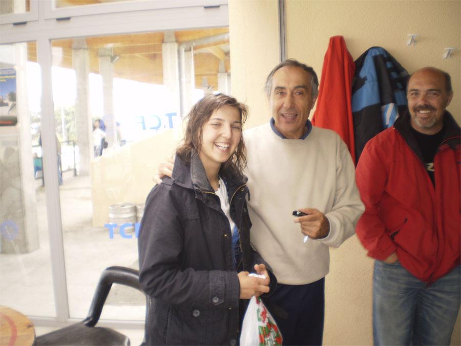 Soledad Pavón y y Ángel Lanchas