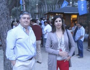 Miembros de la candidatura del PP de Torrelodones