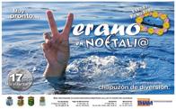Noctalia verano 2011, Chapuzón y Fiesta Hawaiana en Moralzarzal