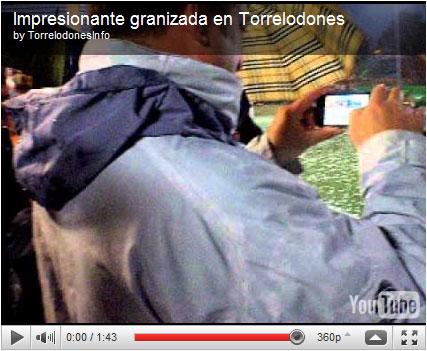 Video Granizada Minifutbol Torrelodones