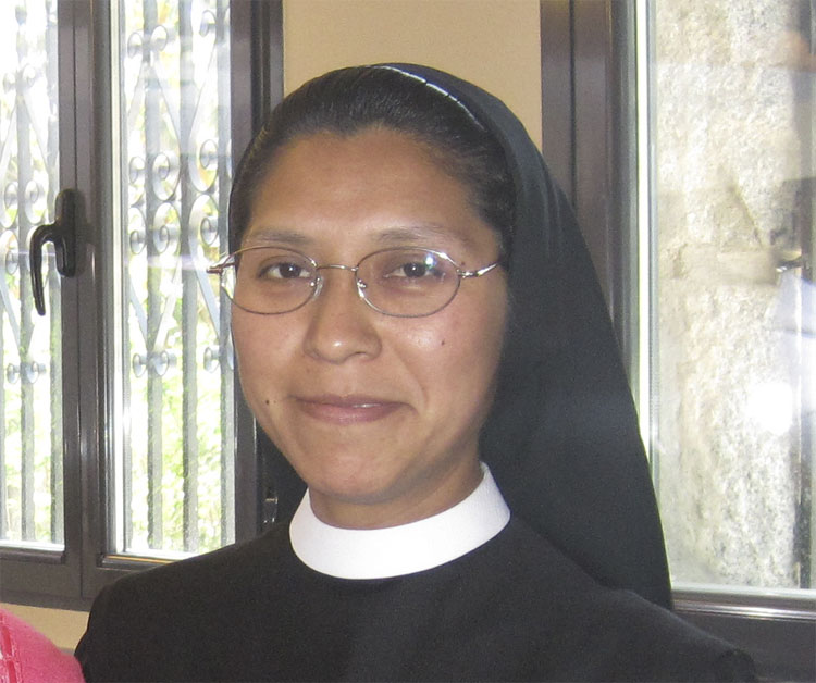 Hermana Teresita, de las Auxiliares Parroquiales