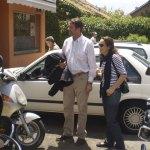 Javier y Marta, en la entrega de Premios del Concurso de Tapas