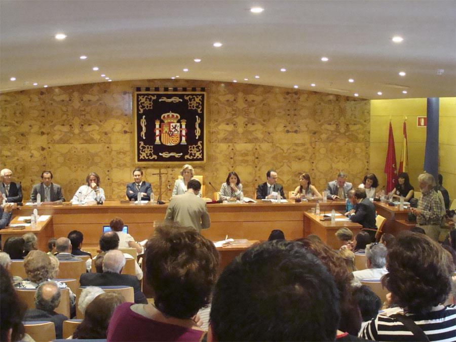 Investidura de Elena Biurrún, como Alcaldesa de Torrelodones