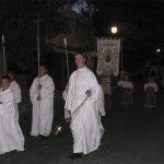 Monaguillos en la Procesión de la Virgen del Carmen de Torrelodones