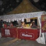 Chiringuito de Kprichos Argentinos en el Recinto Ferial de Torrelodones