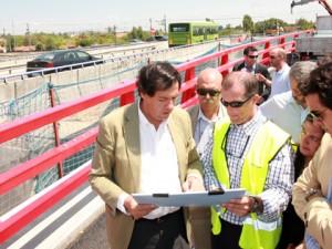 La Puerta de Las Matas visitada por las autoridades de Las Rozas