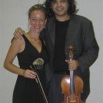 Yuval Gotlibovich y Leonor Salinero.