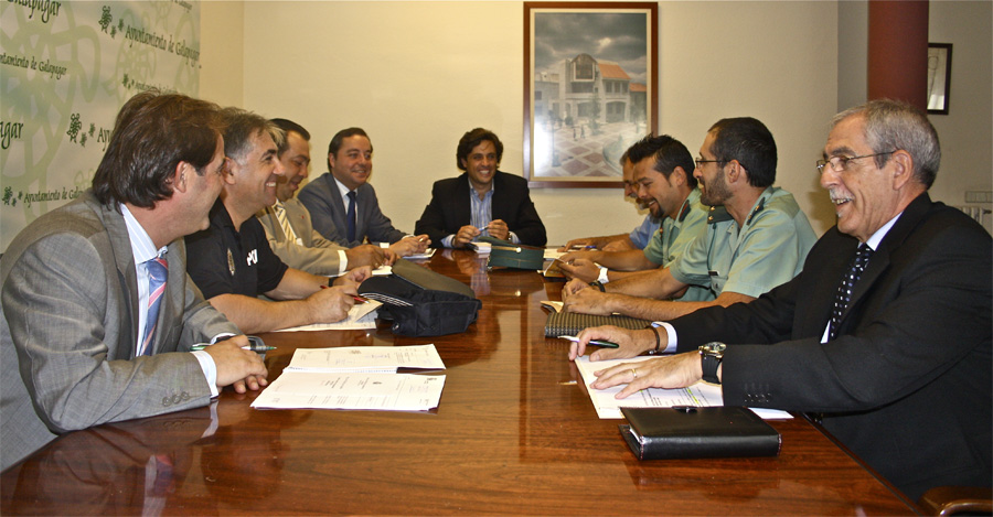 Reunión de la Junta de Seguridad de Galapagar
