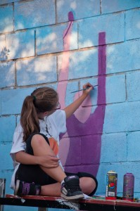 Concurso Grafitis Fiestas Torrelodones 2011 (Foto: juanangelTC)