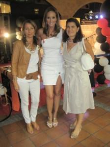 Myriam Aguirre y Begoña Chinchilla con Sandra Ibarra en el Espacio Torrelodones