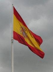 Bandera de España (Plaza Colón)