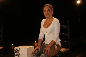 María Carrasco graba video-clip en Torrelodones