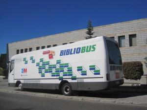 Bibliobús en Torrelodones