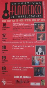 VIII Festival de Flamenco de Torrelodones