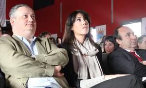 El presidente de ADS Jaoquin Cobo junto con la Directora General de Deportes de la CAM. Carlota Castrejana