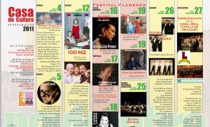 Programa Cultura Torrelodones Noviembre 2011