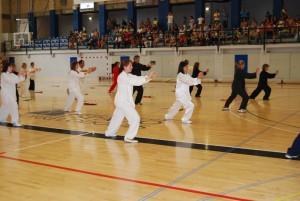Tai Chi en el Polideportivo de Torrelodones (Foto: Ayuntamiento de Torrelodones)
