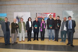 Entrega de Premios de Pintura en Directo Rafael Boti