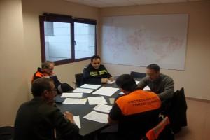 Reunión inclemencias invernales en Torrelodones