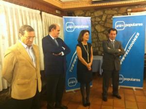 Mario Mingo, Ignacio Astarloa, Gador Ongil y Javier Laorden.