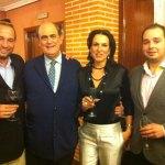 Rodrigo, Astarloa, Isabel y Guzmán Ruiz-Tarazona.