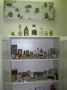 Colección de medicinas antiguas