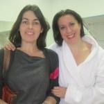 María Pagés con la Concejala de Cultura de Torrelodones