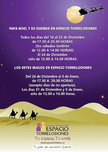 Granja Escuela de Navidad en el C.C. Espacio Torrelodones