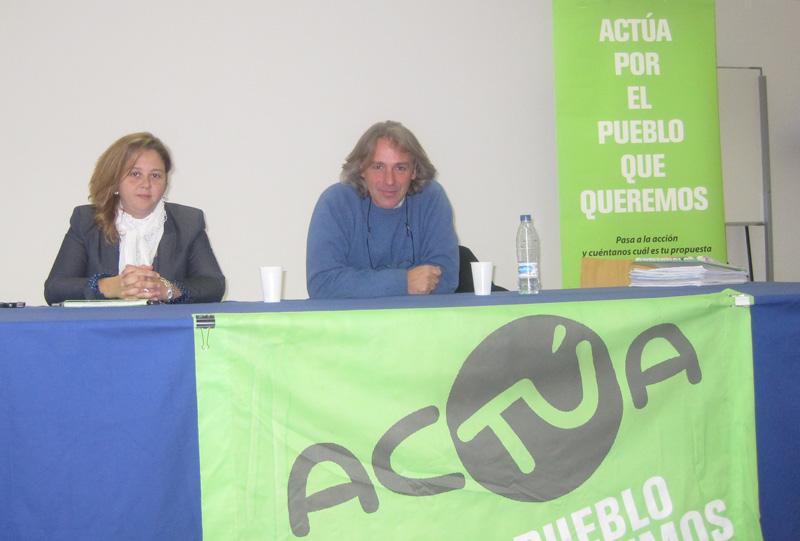 Rueda de Prensa de AcTÚa Torrelodones el 5-12-2011