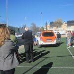 Agustín es trasladado al hospital por protección civil